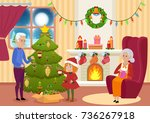 vector illustration of... | Shutterstock .eps vector #736267918