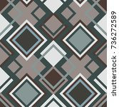 abstract seamless geometrical... | Shutterstock .eps vector #736272589