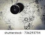 vinnitsa  ukraine   june 25  ... | Shutterstock . vector #736293754