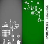 sustainable development concept ... | Shutterstock .eps vector #73630366