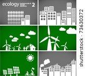 sustainable development concept ... | Shutterstock .eps vector #73630372