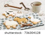 Cute Hand Made Cookies In A...