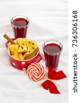 mulled wine | Shutterstock . vector #736306168