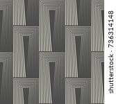 seamless stripe background.... | Shutterstock .eps vector #736314148