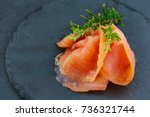 Salted Smoked Salmon With...
