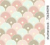 Stock vector seamless japanese vintage pattern 73634098