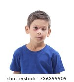 little boy with bruises on...   Shutterstock . vector #736399909