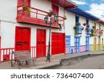 Colorful Colonial Architecture...