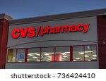 hdr image  cvs pharmacy... | Shutterstock . vector #736424410