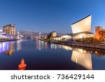 imperial war museum on the... | Shutterstock . vector #736429144