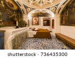alba de tomes  salamanca  spain ... | Shutterstock . vector #736435300