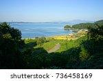 korea namhae sea | Shutterstock . vector #736458169