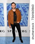 """Small photo of LOS ANGELES, CA - September 26, 2017: Edgar Ramirez at the premiere for the HBO documentary """"Spielberg"""" at Paramount Studios, Hollywood"""