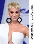 los angeles  ca   august 27 ... | Shutterstock . vector #736473208