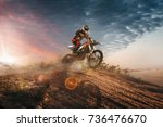 motocross | Shutterstock . vector #736476670