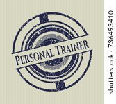 Blue Personal Trainer...