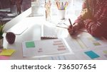 start up jaunch business ideas... | Shutterstock . vector #736507654