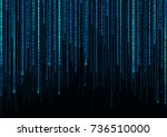 abstract background. blue... | Shutterstock .eps vector #736510000