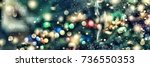 abstract background. christmas... | Shutterstock . vector #736550353