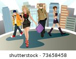 a vector illustration of a... | Shutterstock .eps vector #73658458