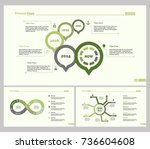 three banking slide template set