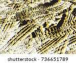 vector grunge background with... | Shutterstock .eps vector #736651789