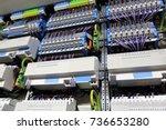 knx installation bus | Shutterstock . vector #736653280