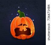 vector color illustration of... | Shutterstock .eps vector #736671484