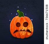 vector color illustration of... | Shutterstock .eps vector #736671508
