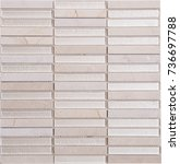 seamless white rectangle glass... | Shutterstock . vector #736697788