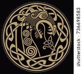 scandinavian design. the nasal...   Shutterstock .eps vector #736698583