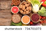 diet food healthy eating | Shutterstock . vector #736701073
