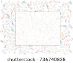 abstract background for... | Shutterstock .eps vector #736740838