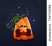 vector color illustration of... | Shutterstock .eps vector #736743988