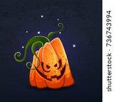 vector color illustration of... | Shutterstock .eps vector #736743994