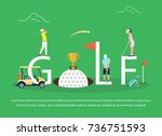 vector illustration of young... | Shutterstock .eps vector #736751593