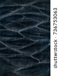 denim jeans texture or denim... | Shutterstock . vector #736753063