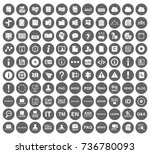 information icons | Shutterstock .eps vector #736780093