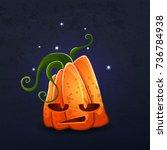 vector color illustration of... | Shutterstock .eps vector #736784938