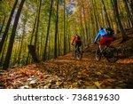 Cycling  Mountain Biker Couple...