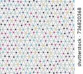 modern abstract vector backdrop ... | Shutterstock .eps vector #736820368