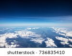 High Altitude View Between Sky...