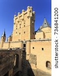 Small photo of Castle of Alcazar in Segovia Spain
