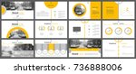 set of infographic elements for ... | Shutterstock .eps vector #736888006