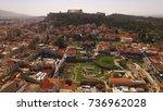 aerial birds eye view photo...   Shutterstock . vector #736962028