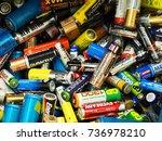 moscow  russia   september ...   Shutterstock . vector #736978210
