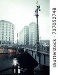 berlin  germany   january 22 ... | Shutterstock . vector #737052748