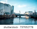 berlin  germany   january 22 ... | Shutterstock . vector #737052778