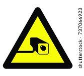 warning signs | Shutterstock .eps vector #737066923