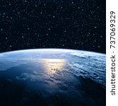 earth from space. best internet ... | Shutterstock . vector #737069329